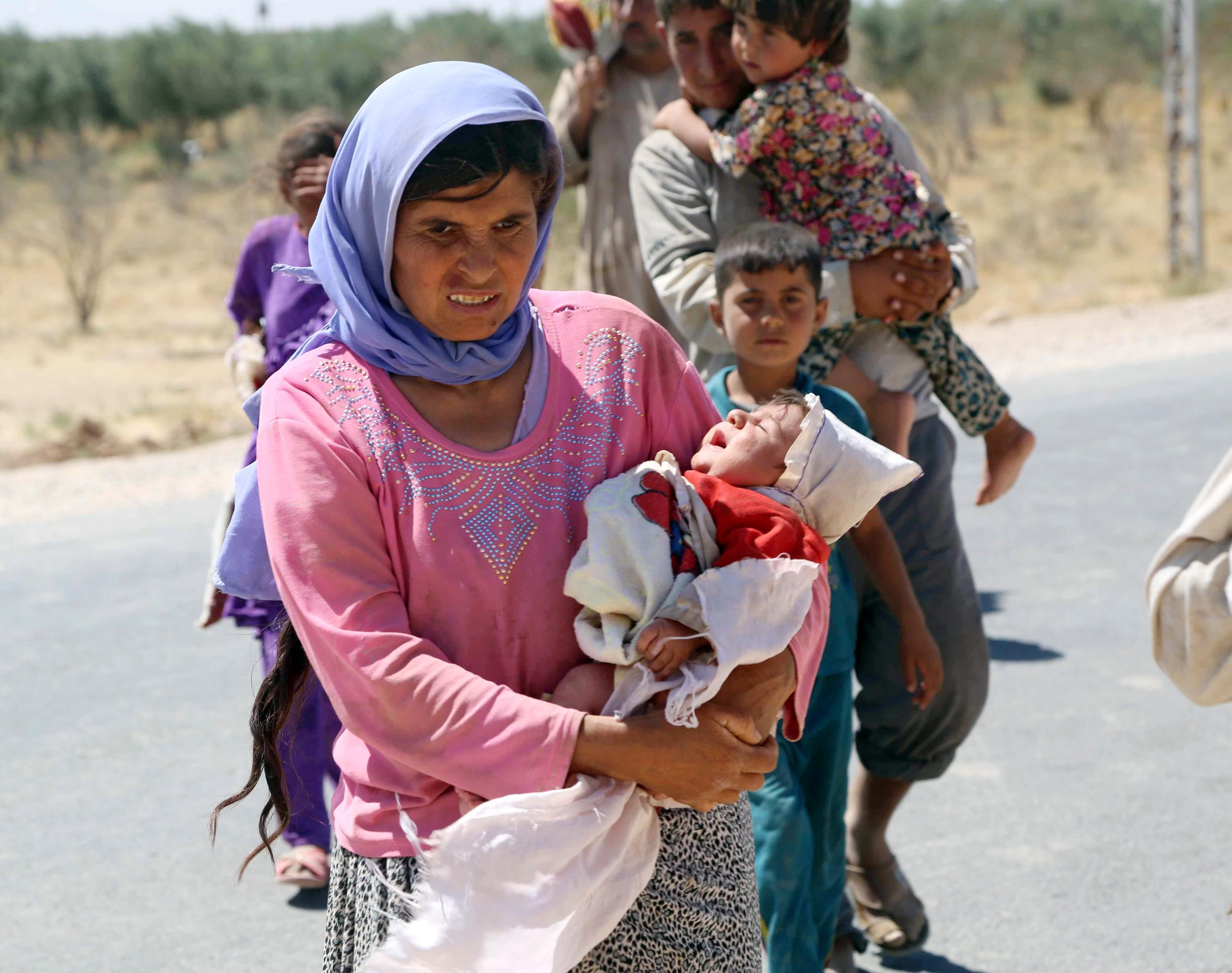 Militanti ISIS liberano centinaia di Yazidi in Iraq