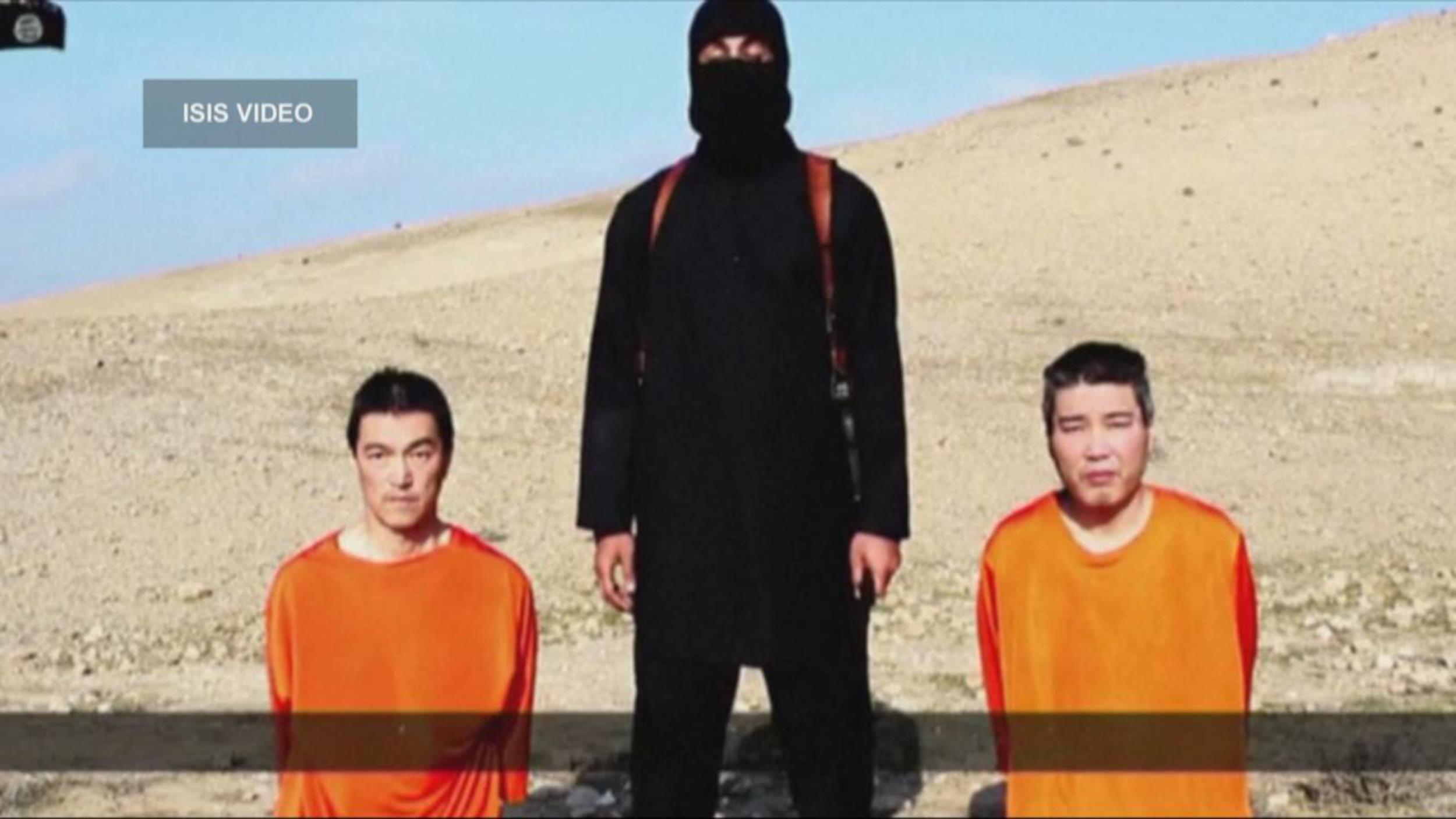 Video ostaggi giapponesi ISIS porta nuove domande su Jihadi John