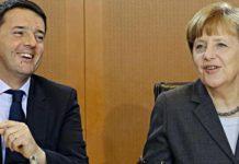 Renzi e Merkel nel post terremoto: «Uniti sulla ricostruzione»
