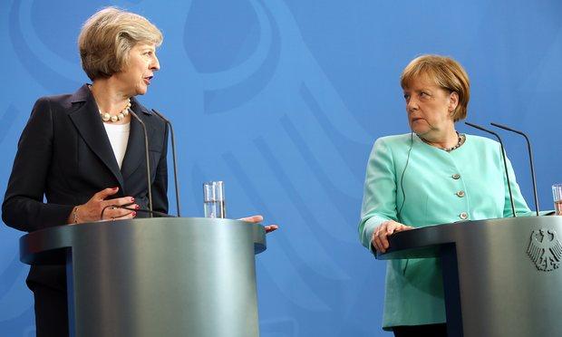 Merkel frena May su mercato unico e libera circolazione