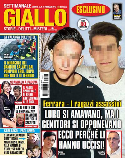 Un amore gay dietro il delitto di Ferrara