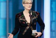 Meryl Streep a muso duro contro Trump